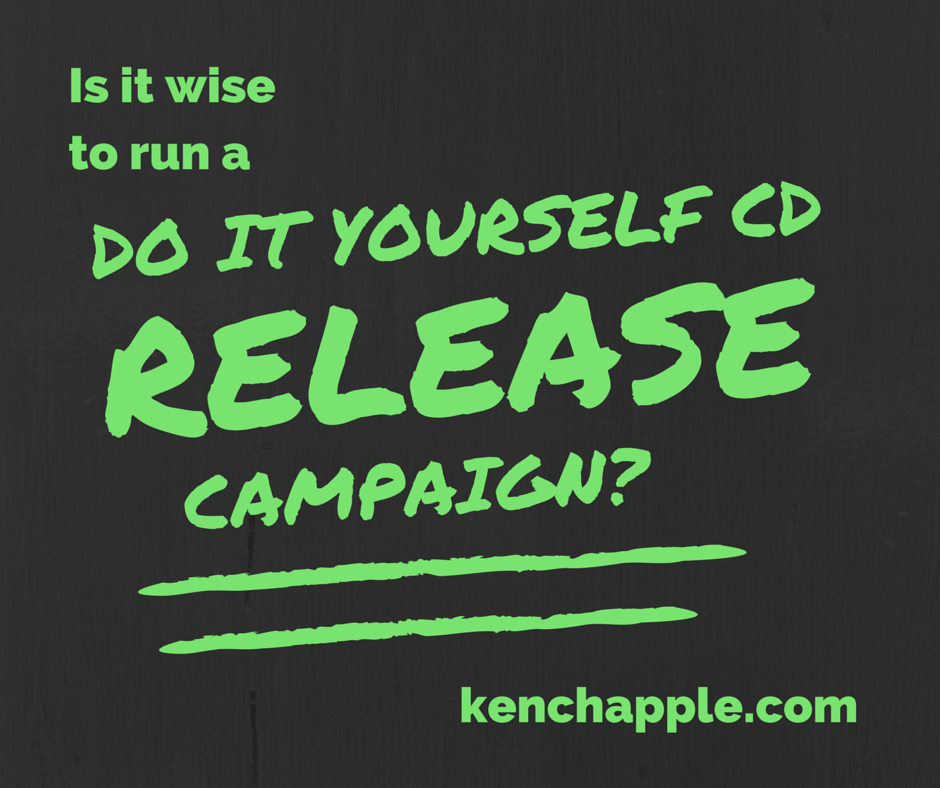 DO IT YOURSELF RELEASE CAMPAIGN