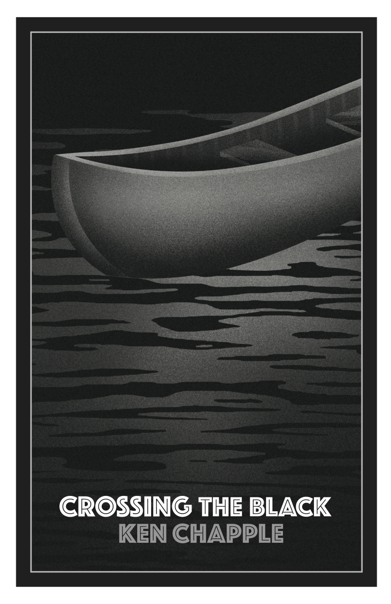 Crossing The Black Canoe Print